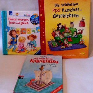 German Kids Picture Children's Books Germany Lot 3